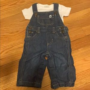 Overall with onesie
